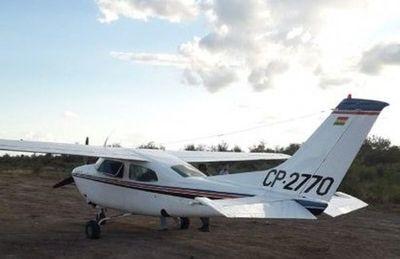 Presumen que aeronave abandonada en el Chaco transportaba drogas