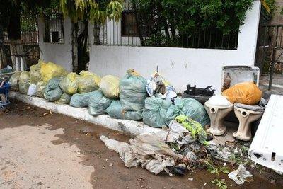 Retiraron 43 t de basura