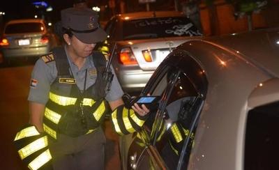 343 conductores ebrios detenidos en la semana