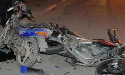 Registran choque de motocicletas en Coronel Oviedo – Prensa 5