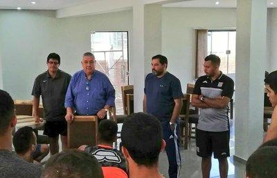 Carlos Jara Saguier en vez de Marecos