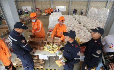 Brigadas de voluntarios se preparan para entrada de ayuda a Venezuela