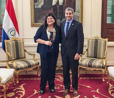 Ejecutivo designa a Carolina Llanes como nueva ministra de la Senabico