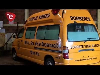 BOMBEROS AMARILLOS BUSCAN RECAUDAR FONDOS PARA UNA NUEVA AMBULANCIA
