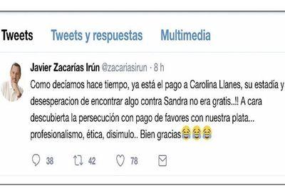 """Zacarías: Nuevo cargo de Llanes es un """"pago de favor"""""""