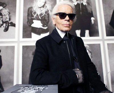 Falleció el diseñador Karl Lagerfeld