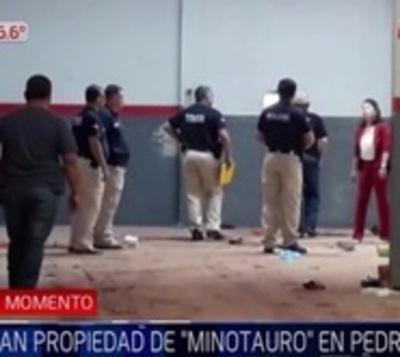 Allanan depósito en donde desaparecieron vehículos de 'Minotauro'