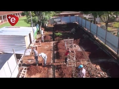 INICIAN CONSTRUCCIÓN DE MÁS AULAS PARA FORMACIÓN DOCENTE