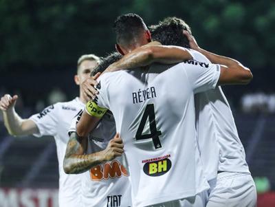 Atlético Mineiro saca ventaja importante sobre Defensor Sporting