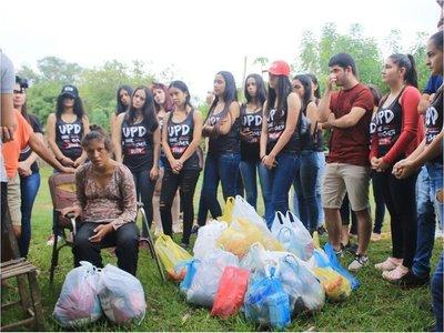 Alumnos de Horqueta viven su  UPD con la  solidaridad como bandera