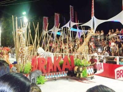 Este sábado será la primera nochedel Carnaval Guaireño, edición 2019