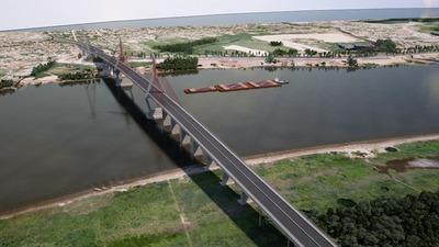 Unos 3.500 metros de puente unirán Asunción y Chaco'i para el 2023