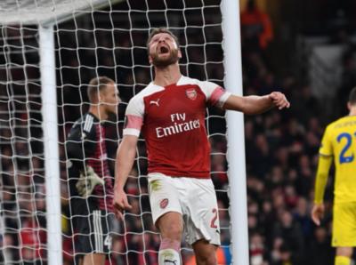 Arsenal 'BATE al Borisov por 3-0 y avanza en UEFA Europa League