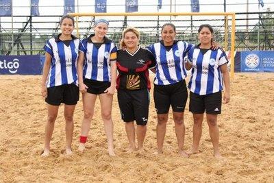 Prosigue Apertura femenino de fútbol playa
