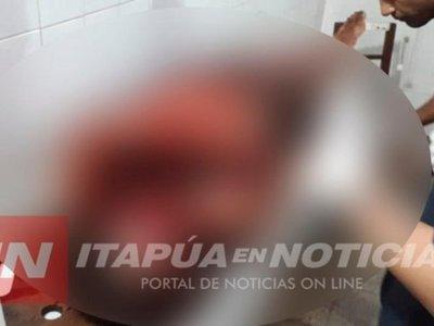 Dinamita explotó por un trabajador en una excavación