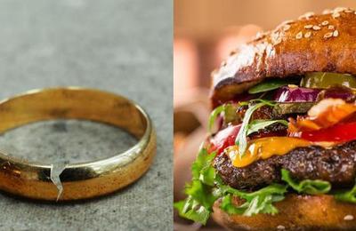 Pidió el divorcio luego que su marido olvidara traerle una hamburguesa