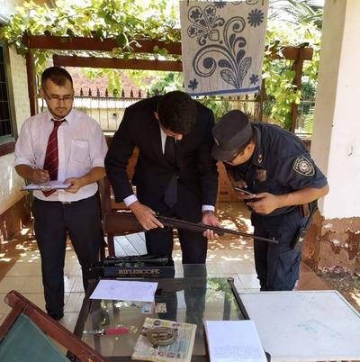 Caso bala perdida: Fiscal allana vivienda en busca del autor del disparo