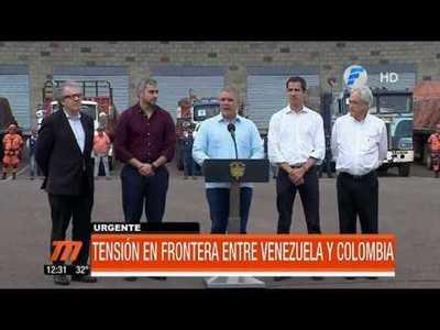 Venezuela: tensión tras el intento de ingreso de ayuda humanitaria