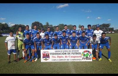 Caaguazú con representante para la próxima fase de la Copa Paraguay