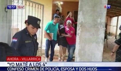 Adolescente confiesa que asesinó a toda una familia en Villarrica