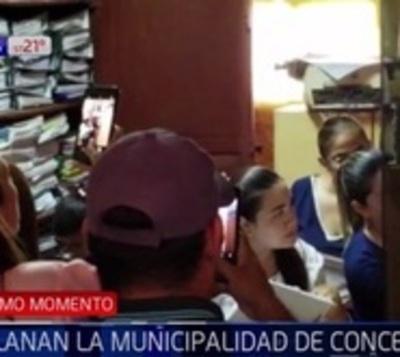 Allanan Municipalidad de Concepción en busca de documentos de Fonacide