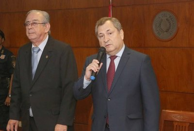 Eugenio Jiménez Rolón fue electo presidente de la Corte Suprema de Justicia