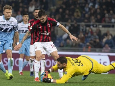 Lazio y Milan se jugarán el pase a la final en San Siro