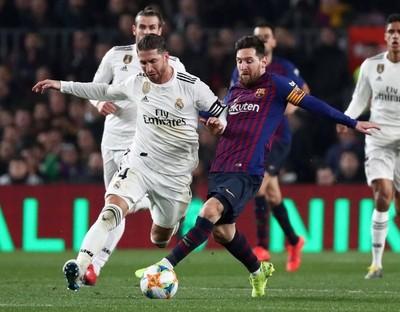 Barcelona y Real Madrid definen el paso a la final de la Copa del Rey