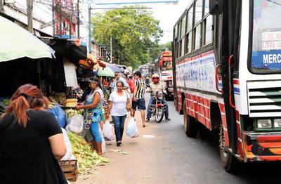 Repararán primero calles del microcentro de San Lorenzo y luego el de los barrios