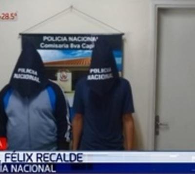 Caen sospechosos de crimen de motochorros en Capiatá