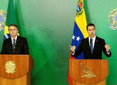 Guaidó afianza apoyos en la región por la democracia para Venezuela