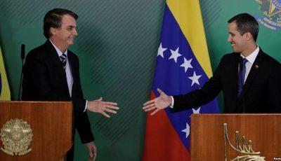 Guaidó visitará Paraguay después de reunión con Bolsonaro