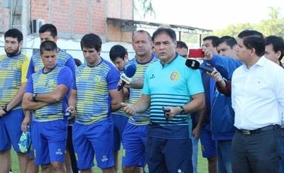 HOY / Chito toma el mando del Deportivo Capiatá