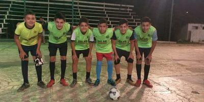Presentaron  selección C 13 y de futsal