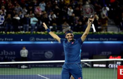 Federer, el Dios de la raqueta: campeón en Dubái y llegó al título 100 de su carrera