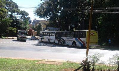 Buses retenidos