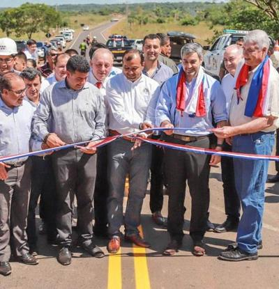 Mandatario habilitará obras de infraestructura en el departamento de Caaguazú
