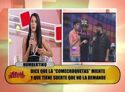 "Virginia Jiménez: ""Humbertiko hacia videollamada con una trans"""