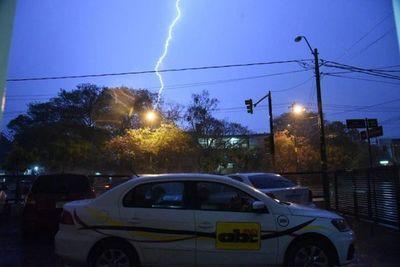 Tormentas eléctricas afectarán gran parte del país