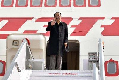 Vicepresidente de la India inicia visita oficial al Paraguay