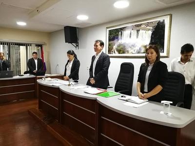 Asume un liberal como presidente de la Junta Departamental tras pedido de permiso de Cabañas