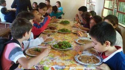 Almuerzo escolar de la Gobernación de Misiones desde la siguiente semana