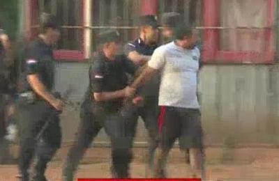 Duro accionar de efectivos policiales durante desalojo en Luque