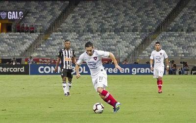 El ciclón debuta en la copa con una histórica victoria ante el Mineiro