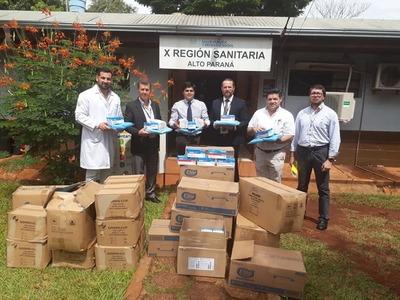 Fundación Tesãi dona insumos a la Décima Región Sanitaria
