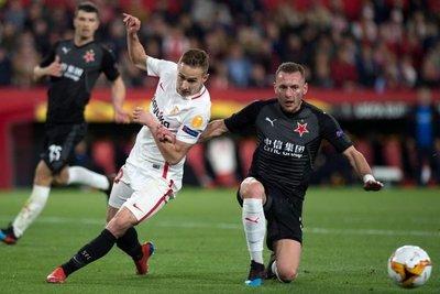 Sevilla empata con Slavia Praga