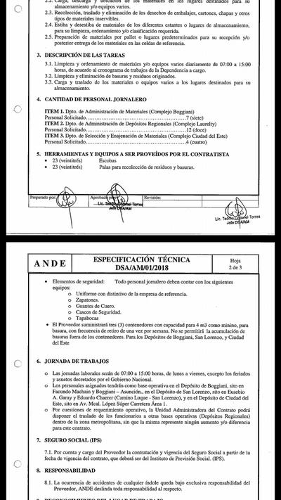 Sorprendente despilfarro de dinero en ANDE para tercerizar servicios que pueden hacer funcionarios
