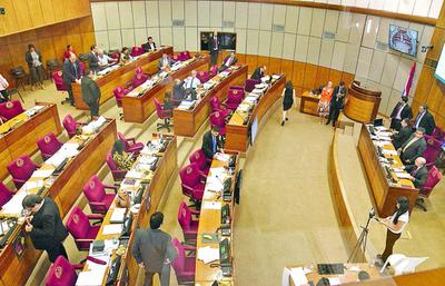 Nefasto legajo de militares obliga a los senadores a abandonar sesión