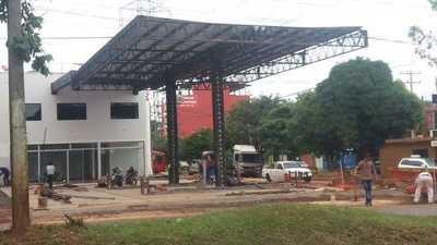 Junta Municipal habilita otra estación de servicio pese a las irregularidades