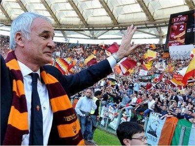 Claudio Ranieri será el nuevo técnico del Roma